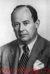 """冯·诺依曼(John von Neumann,1903~1957),20世纪最重要的数学家之一,在现代计算机、博弈论、核武器和生化武器等诸多领域内有杰出建树的最伟大的科学全才之一,被后人称为""""计算机之父""""和""""博弈论之父""""。"""